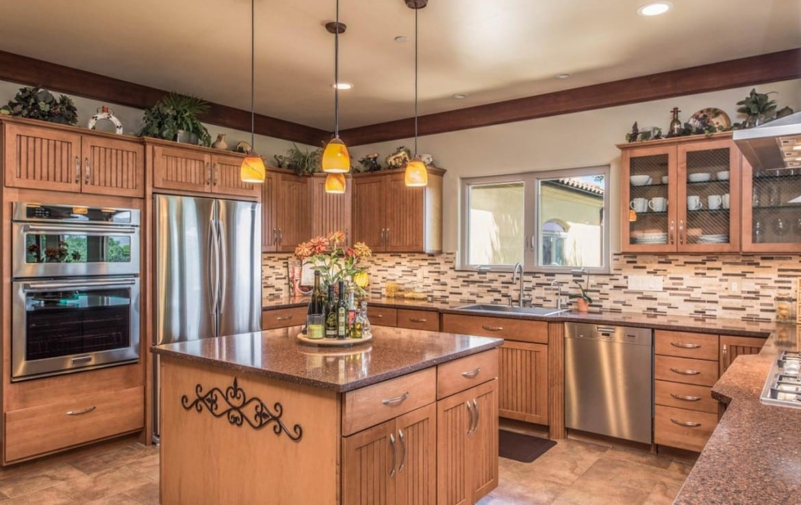 Carmel Valley Home For Rent with large kitchen