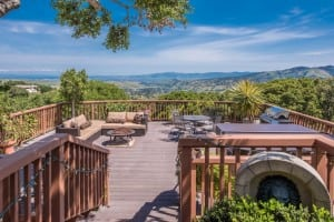 carmel valley rental home with hottub