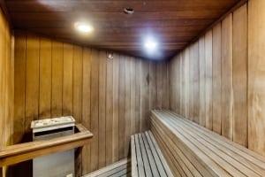 crown point rental with sauna